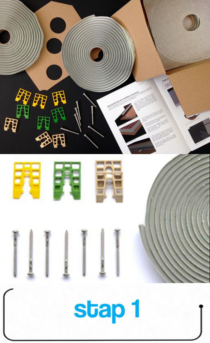 Steg 1: Packa upp - Vad finns i installationssatsen?