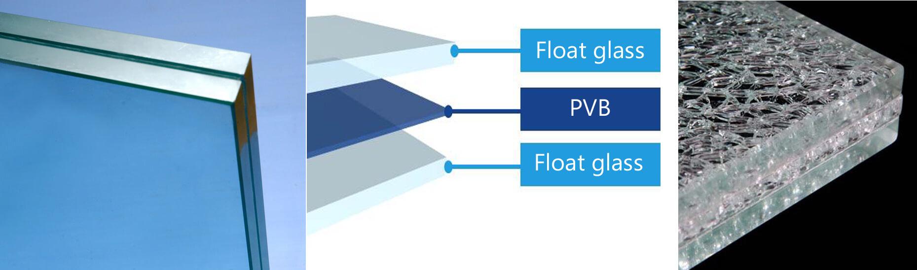Laminerat glas: flerskiktat glas