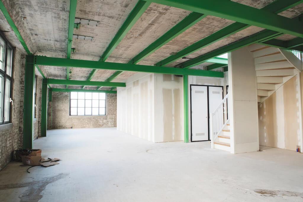 Freestanding Box Industriella loft med takterrass