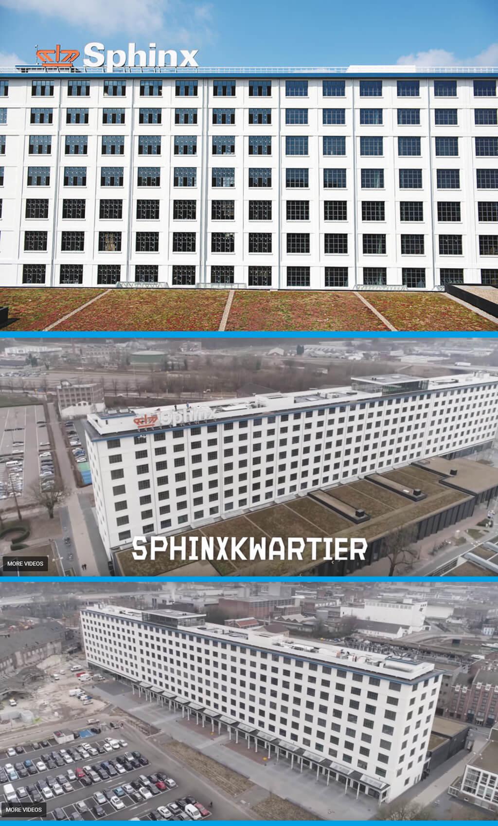 Andra livet för Eiffelbyggnaden i Sphinxkwartier (Sphinx-kvarteret)
