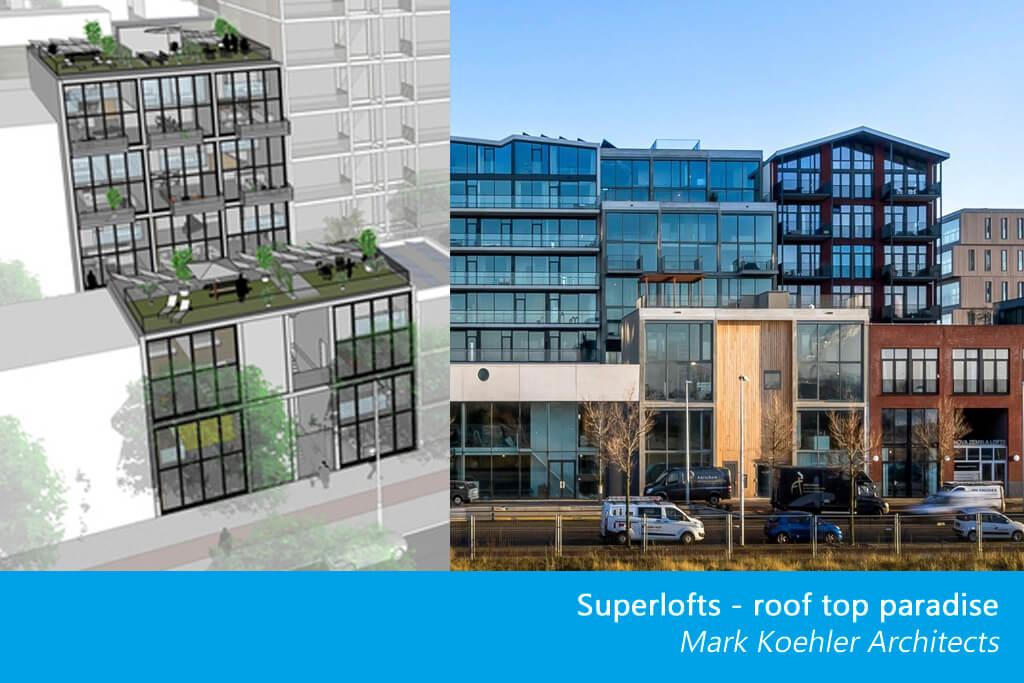 Konceptet Superlofts är ett arkitektoniskt koncept