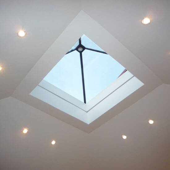Fixed Piramid Rooflight Square Elongated And Octagonal