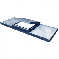 Integrated ventilation Rooflight