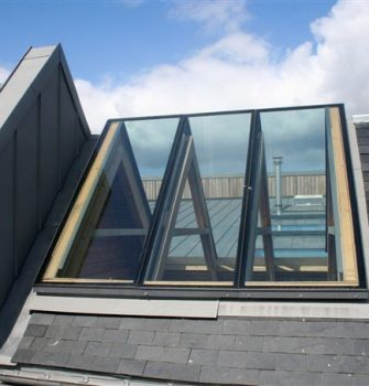 Ridgeglaze Fixed Rooflight - Glazing Vision Europe -