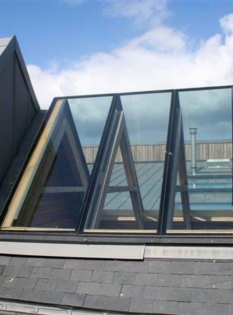Ridgeglaze Fixed Rooflight - Glazing Vision Europe -