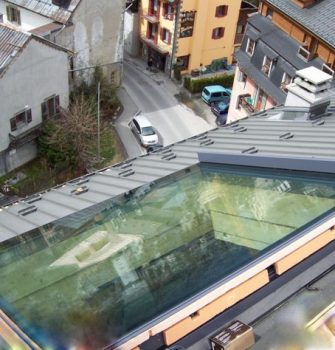 Sliding over Roof Rooflight - Glazing Vision Europe
