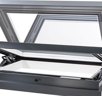 xVent Smoke Ventilation Rooflight - Glazing Vision Europe