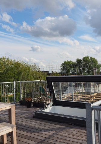 Skydoor Hinged Acces Rooflight - Glazing Vision Europe