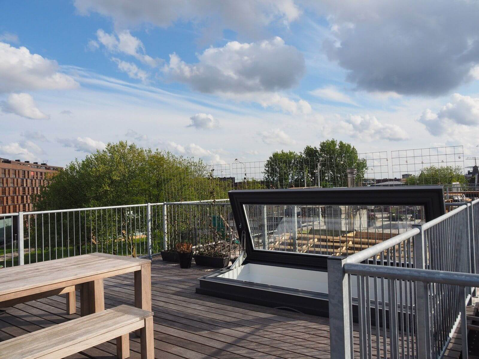 Roof Access - Glazing Vision Europe