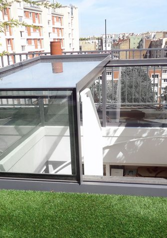 Freestanding Box Rooflight - Glazing Vision Europe - Paris