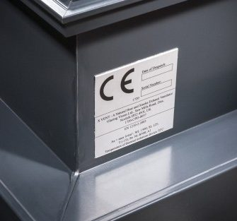 xVent Smoke Ventilation Rooflight - Glazing Vision Europe