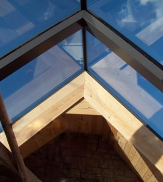 Ridgeglaze Fixed Rooflight - Glazing Vision Europe