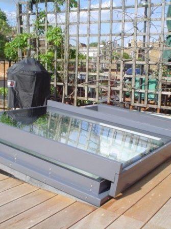 Sliding over Fixed Rooflight - Glazing Vision Europe