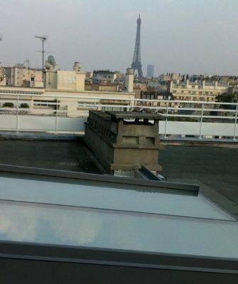 Sliding over Roof Rooflight - Glazing Vision Europe