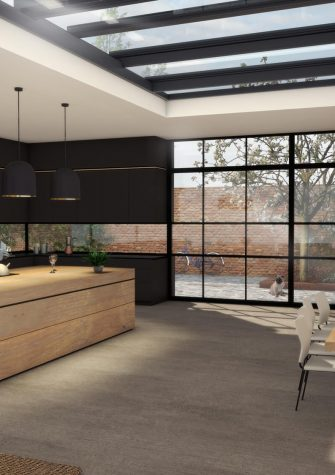 4 Bespoke Bi Parting Sliding Stacking Over Fixed Rooflight Concept s