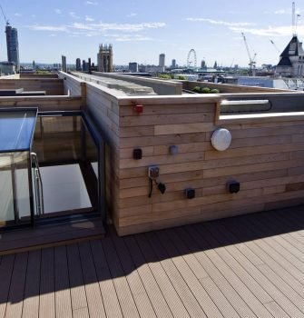 Freestanding Box Rooflight - Glazing Vision Europe - London NL
