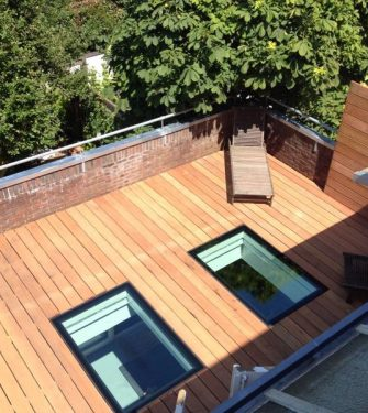 Flushglaze Walkon Rooflight - Glazing Vision Europe -