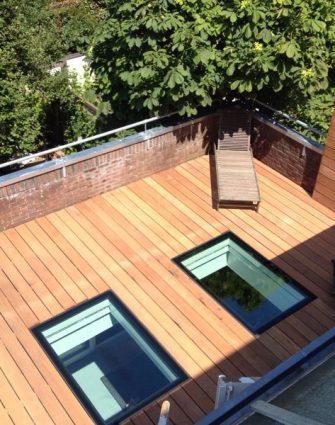 Flushglaze Walkon Rooflight - Glazing Vision Europe -