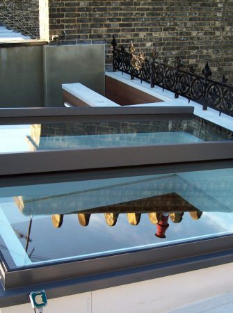 Sliding over Fixed Rooflight - Glazing Vision Europe