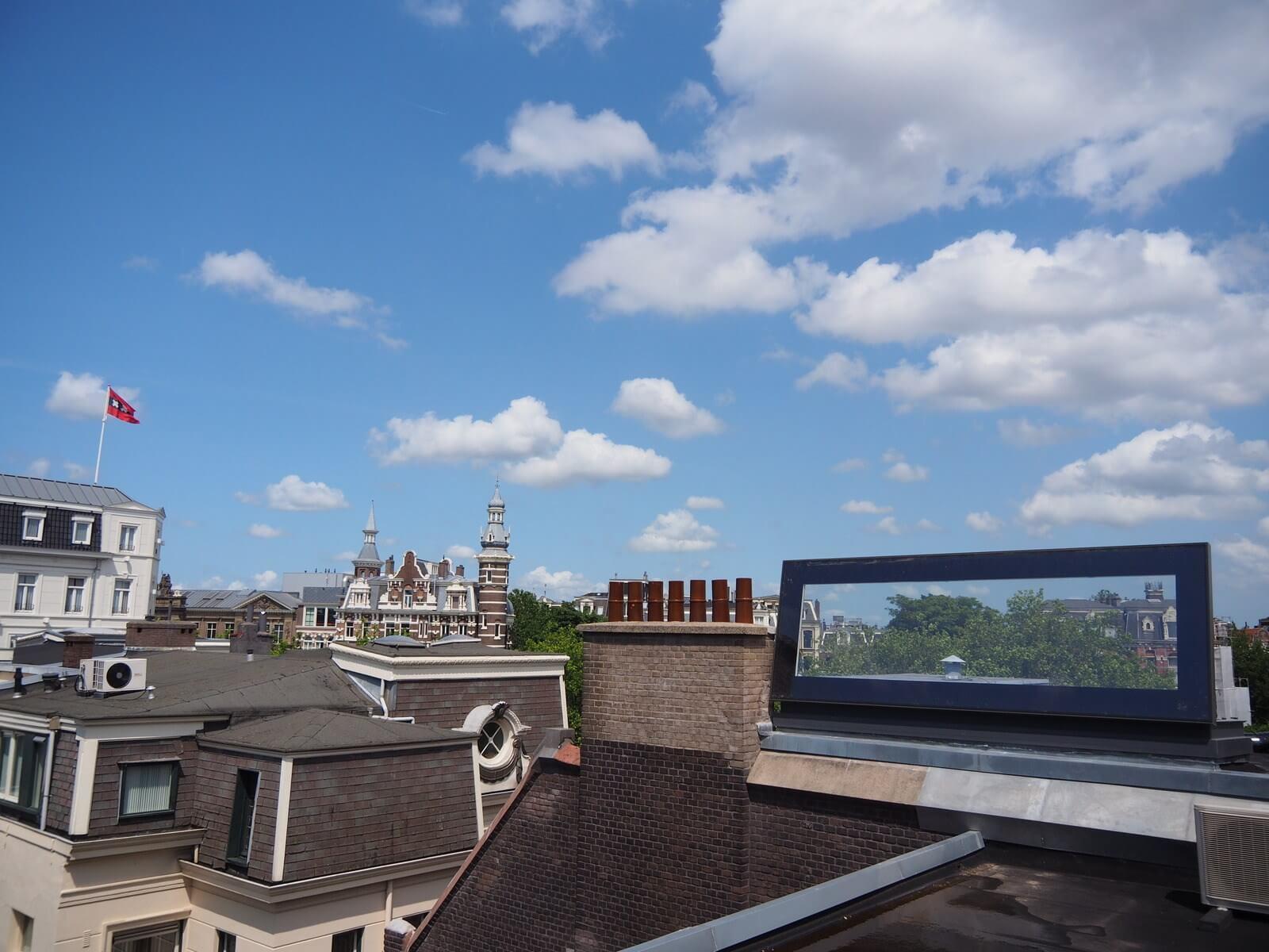 Skydoor In The Center Of Amsterdam