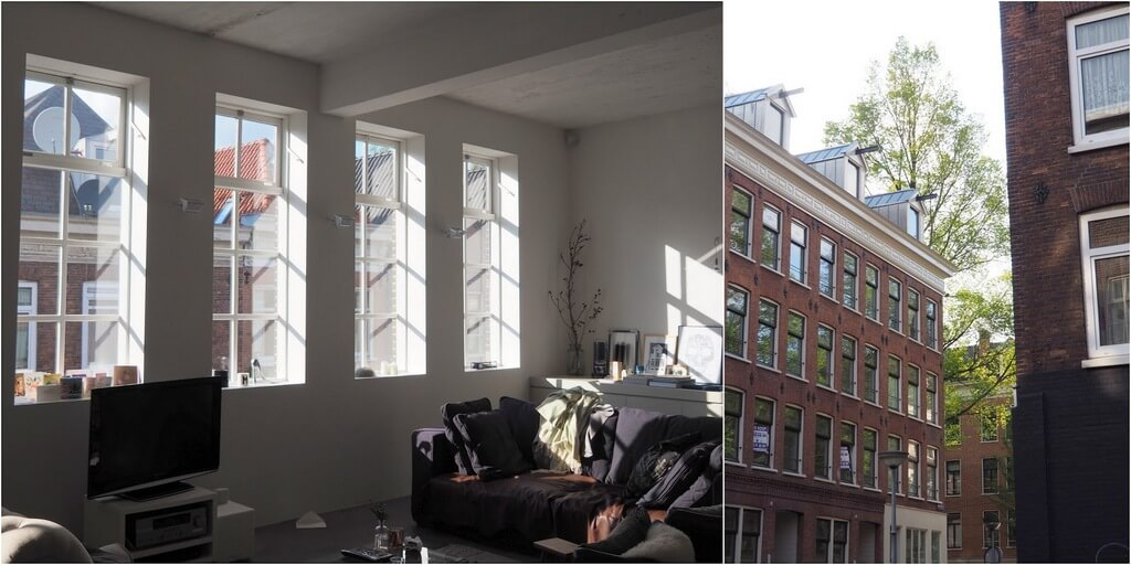 In The Spotlight Rooftop Access Amsterdam Loft Glazing Vision Europe