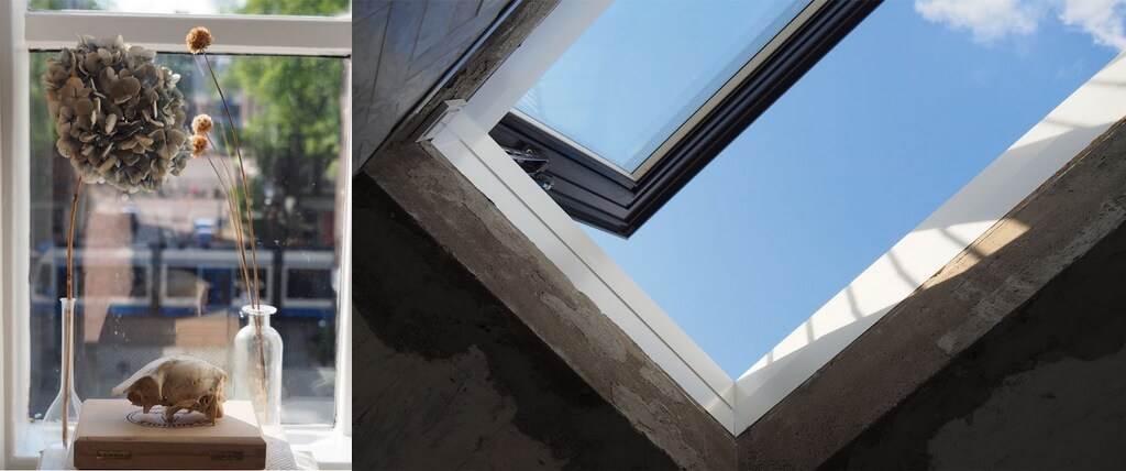 Roof hatch and ventilation