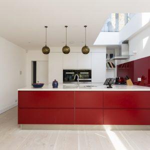 Large rooflight kitchen