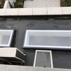 Fixed Flushglaze outside