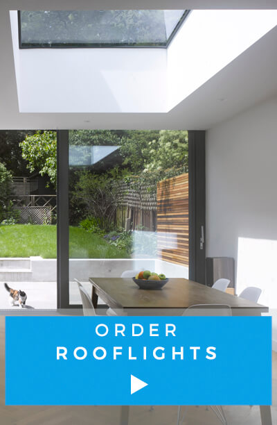 Order rooflights in the webshop