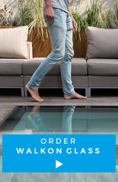 Order walkon glass