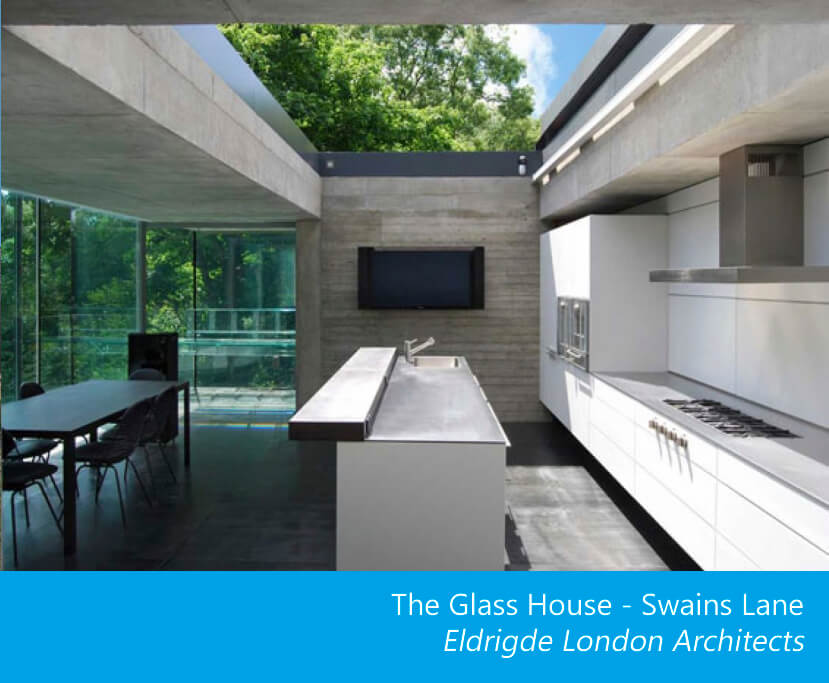 The Glass House Sliding Roof For An Open Kitchen Glazing Vision Europe